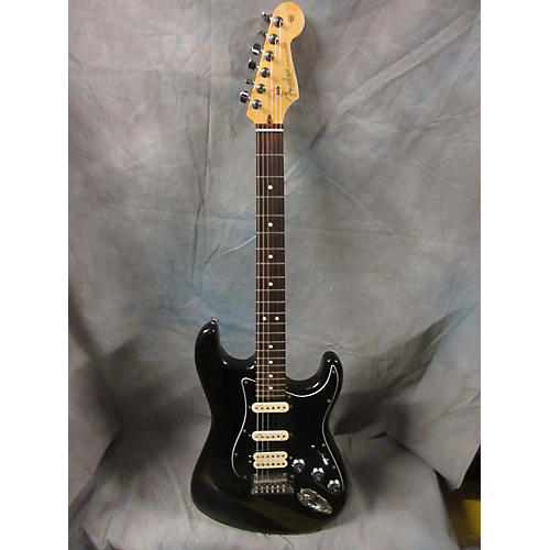 Fender American Deluxe Stratocaster Plus HSS Solid Body Electric Guitar Mystic Black