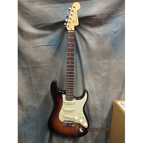 Fender American Deluxe Stratocaster Solid Body Electric Guitar Tobacco Burst