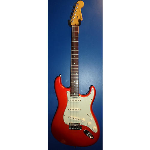 Fender American Deluxe Stratocaster Solid Body Electric Guitar Candy Tangerine