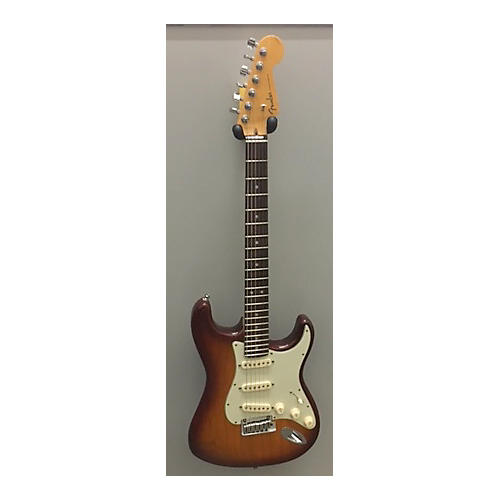 Fender American Deluxe Stratocaster Solid Body Electric Guitar Sienna Sunburst