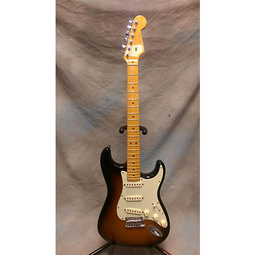 Fender American Deluxe Stratocaster V Neck Solid Body Electric Guitar