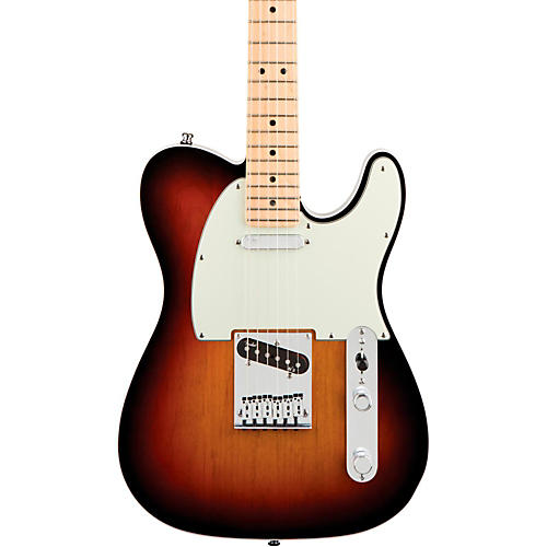 Fender American Deluxe Telecaster Electric Guitar 3-Color Sunburst Maple Neck