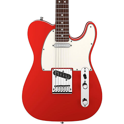 Fender American Deluxe Telecaster Electric Guitar Candy Apple Red Rosewood Fretboard