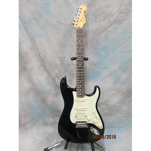 Fender American Design Modern Stratocaster Black Solid Body Electric Guitar Black