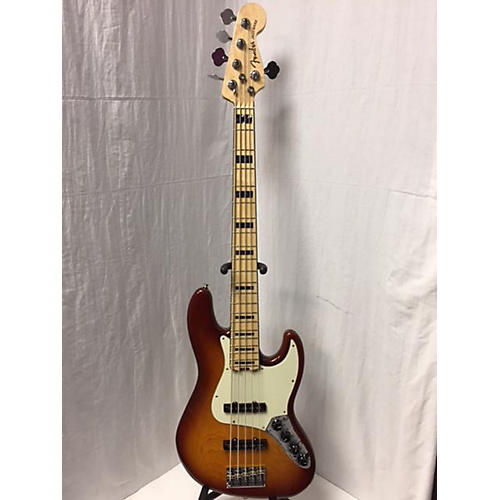 used fender american elite jazz bass 5 string electric bass guitar guitar center. Black Bedroom Furniture Sets. Home Design Ideas