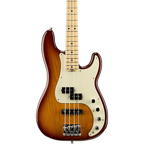 Fender American Elite Precision Bass Maple Fingerboard Electric Bass-thumbnail