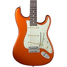 American Elite Rosewood Stratocaster Electric Guitar Autumn Blaze Metallic