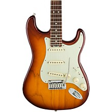 American Elite Rosewood Stratocaster Electric Guitar Tobacco Burst