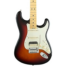 American Elite Stratocaster HSS Shawbucker Maple Fingerboard Electric Guitar 3-Color Sunburst