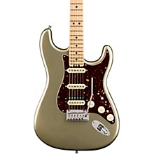 American Elite Stratocaster HSS Shawbucker Maple Fingerboard Electric Guitar Champagne