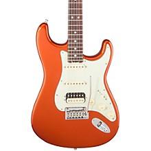 American Elite Stratocaster HSS Shawbucker Rosewood Fingerboard Electric Guitar Autumn Blaze Metallic