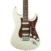 American Elite Stratocaster HSS Shawbucker Rosewood Fingerboard Electric Guitar Olympic Pearl