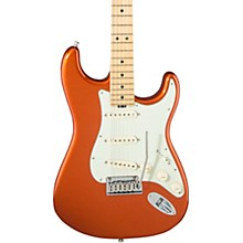 American Elite Stratocaster Maple Fingerboard Electric Guitar Autumn Blaze Metallic