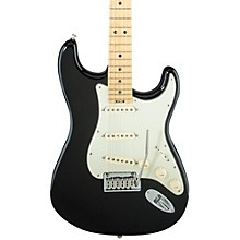 American Elite Stratocaster Maple Fingerboard Electric Guitar Mystic Black