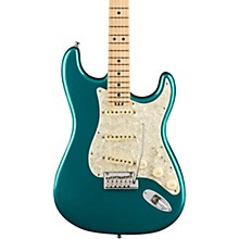 American Elite Stratocaster Maple Fingerboard Electric Guitar Ocean Turquoise