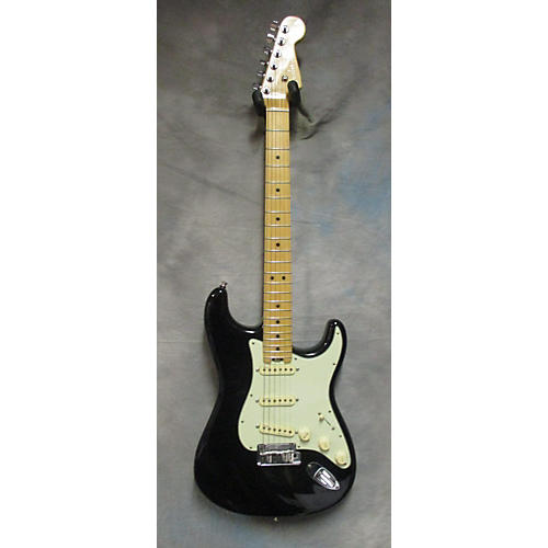 used fender american elite stratocaster solid body electric guitar mystic black guitar center. Black Bedroom Furniture Sets. Home Design Ideas
