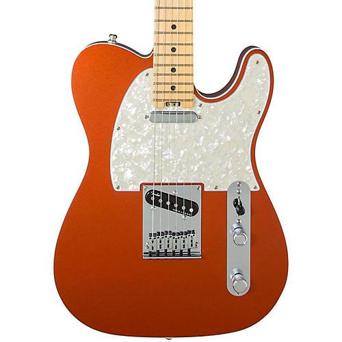 Fender American Elite Telecaster Maple Fingerboard Electric Guitar Autumn Blaze Metallic