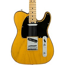 American Elite Telecaster Maple Fingerboard Electric Guitar Butterscotch Blonde