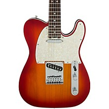 American Elite Telecaster Rosewood Fingerboard Electric Guitar Aged Cherry Burst