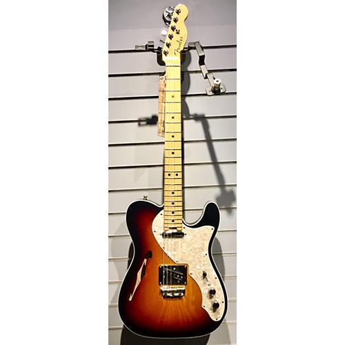 Fender American Elite Thinline Telecaster Hollow Body Electric Guitar-thumbnail