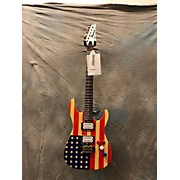 Miscellaneous American Flag Guitar Solid Body Electric Guitar