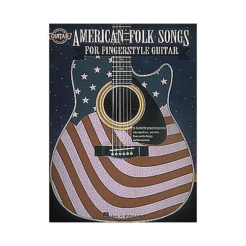 Hal Leonard American Folksongs Fingerstyle Guitar Tab Songbook-thumbnail