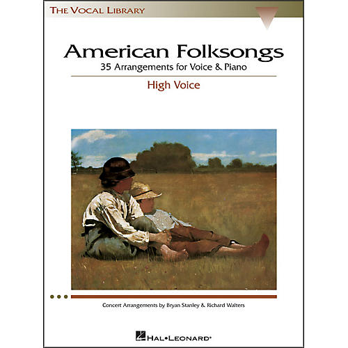 Hal Leonard American Folksongs for High Voice (The Vocal Library Series)