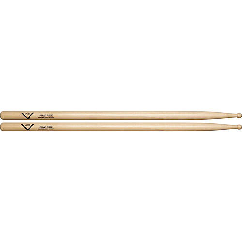 Vater American Hickory Phat Ride Drumsticks  Wood