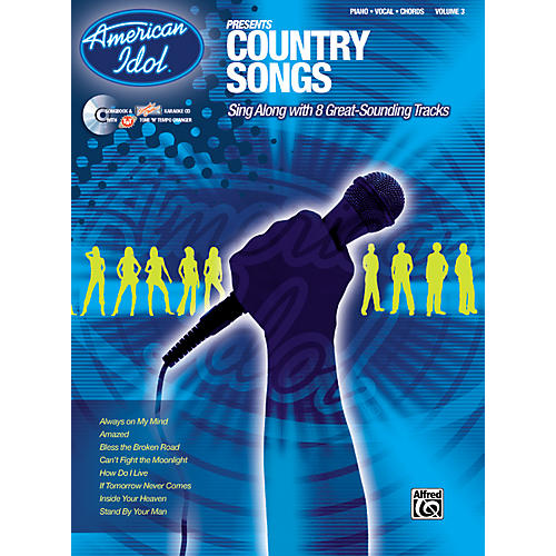Alfred American Idol Presents Country Songs Book and CD