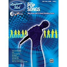 Alfred American Idol Presents Pop Songs Book and CD