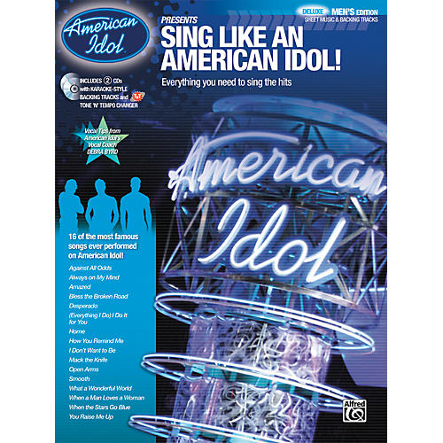 Alfred American Idol Presents: Sing Like an American Idol! DELUXE Men's Edition (Book/2 CD)