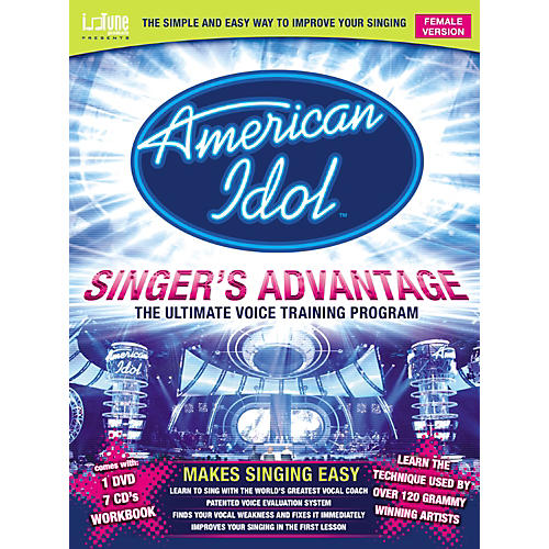 Music Sales American Idol Singer's Advantage - Female (Book/DVD/CD)