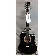 Esteban American Legacy Midnight Steel Acoustic Electric Guitar