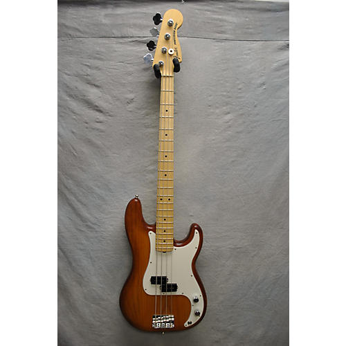 Fender American Limited Edition Nitro Satin Precision Bass Electric Bass Guitar-thumbnail