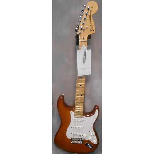 Fender American Nitro Satin Stratocaster Honey Burst Solid Body Electric Guitar