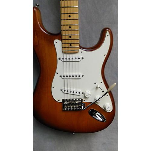 Fender American Nitro Satin Stratocaster Solid Body Electric Guitar-thumbnail