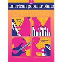 Novus Via American Popular Piano Christmas - Level 2 (Level 2) Misc Series Written by Christopher Norton
