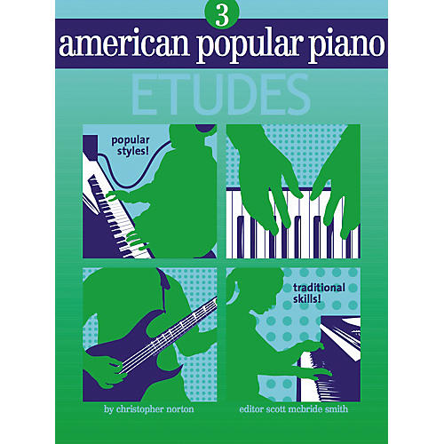 NV Group American Popular Piano Etudes 3 Book/CD-thumbnail