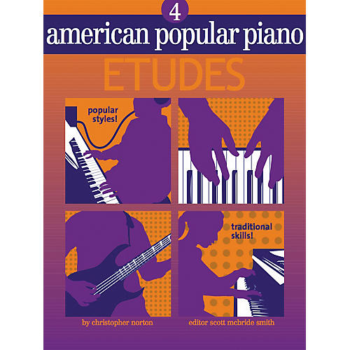 NV Group American Popular Piano Etudes 4 Book/CD