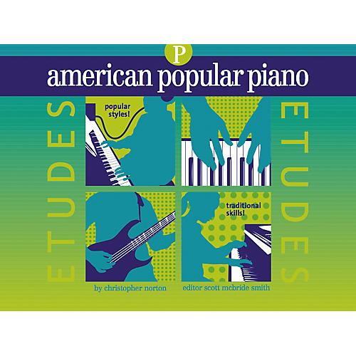 NV Group American Popular Piano Etudes Prep Book/CD