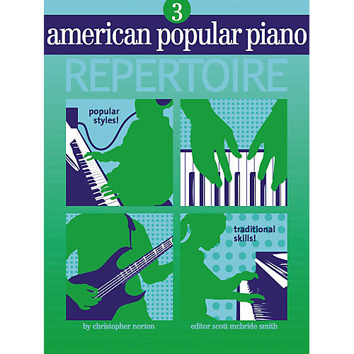 NV Group American Popular Piano Repertoire 3 Book/CD
