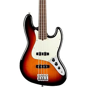 Fender American Professional Fretless Jazz Bass Rosewood Fingerboard by Fender