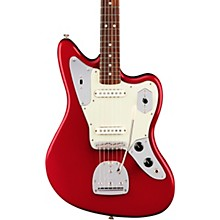 American Professional Jaguar Rosewood Fingerboard Electric Guitar Candy Apple Red
