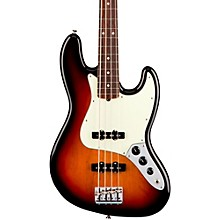 American Professional Jazz Bass Rosewood Fingerboard Electric Bass 3-Color Sunburst