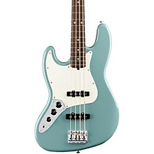 American Professional Left-Handed Jazz Bass Rosewood Fingerboard Sonic Gray