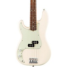 American Professional Left-Handed Precision Bass Rosewood Fingerboard Olympic White