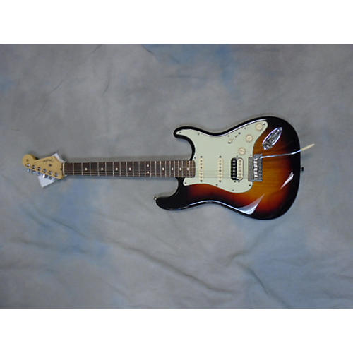 Fender American Professional Standard Stratocaster HSS 3 Color Sunburst Solid Body Electric Guitar-thumbnail
