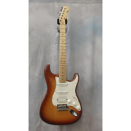 Fender American Professional Standard Stratocaster HSS Solid Body Electric Guitar-thumbnail