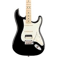 American Professional Stratocaster HSS Shawbucker Maple Fingerboard Electric Guitar Black