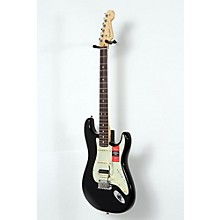 American Professional Stratocaster HSS Shawbucker Rosewood Fingerboard Electric Guitar Level 2 Black 190839034588